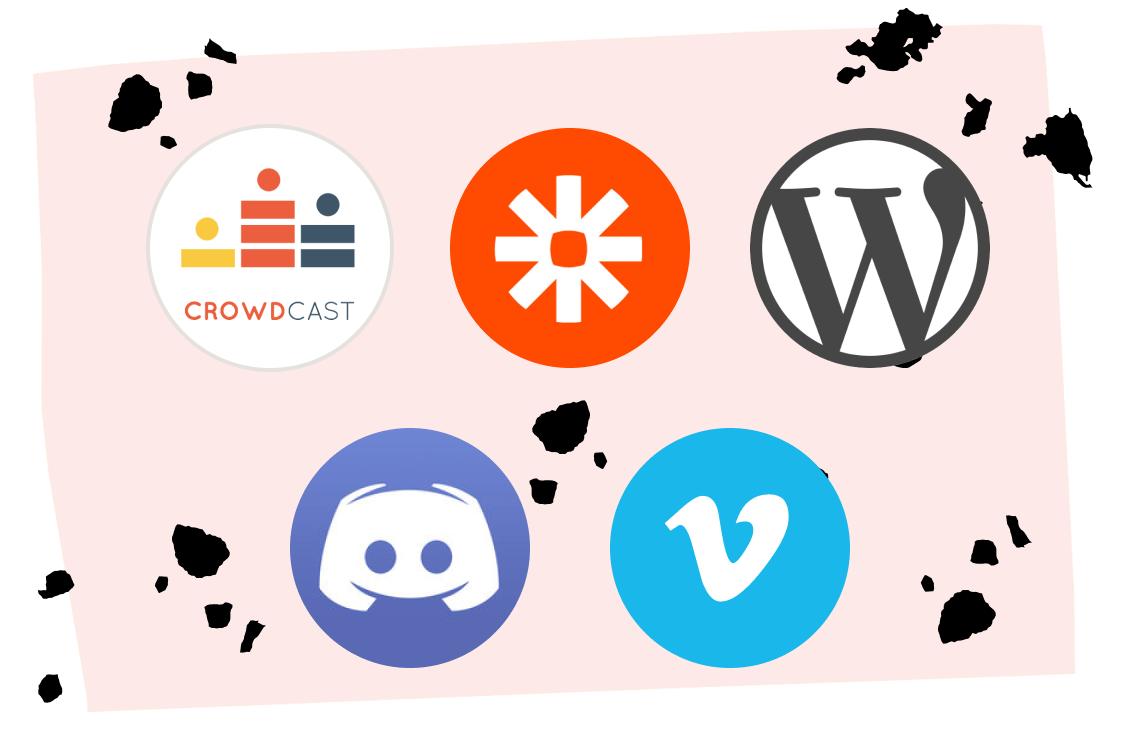 Image showing different application logos